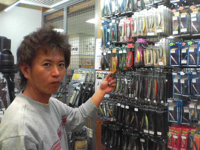 辺見哲也氏来店。